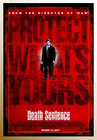Death Sentence affiche